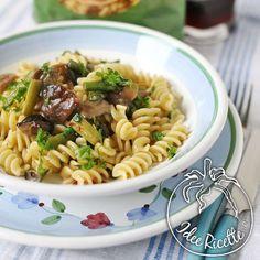 Fusilli Bio con asparagi e funghi porcini / Organic Fusilli with asparagus and mushrooms