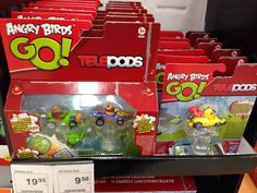 Angry Bird telepods