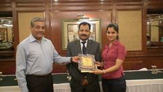 Dr. Richa receiving certificate of Fellowship in minimal access Surgery at World Laparoscopy Hospital. For more detail please log on to www.laparoscopyhospital.com