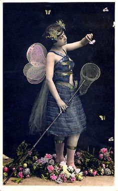 Venus Art Prints - Deliciously Different Contemporary Art Prints, Vintage Posters & Design Art. Antique Photos, Vintage Pictures, Vintage Photographs, Vintage Images, Vintage Kids, Vintage Art, Butterfly Fairy, Butterfly Frame, Vintage Ballet