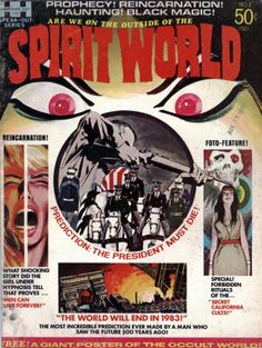 Spirit World. This singular issue of Jack Kirby's Spirit World is coming out in a hardcover edition that will start shipping in May. It will be published by DC Comics.