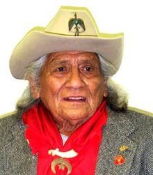 Charles Joyce Chibitty (November 20, 1921 – July 20, 2005) was a Comanche Numunu code talker, who spoke in his native language to relay messages for the United States Army during the European Theatre of World War II.
