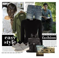"""""""Maze Runner #7"""" by fangirl-in-the-us on Polyvore featuring Polo Ralph Lauren, TOMS, Oasis and Proenza Schouler"""