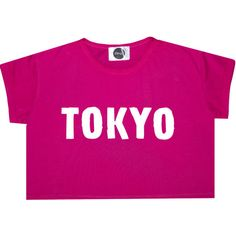 Tokyo Crop Top T Shirt Tee Womens Girl Funny Fun Tumblr Hipster Swag... (180 ARS) ❤ liked on Polyvore featuring tops, shirts, black, sweater vests, sweaters, women's clothing, colorful shirts, goth shirts, colorful crop tops and crop top