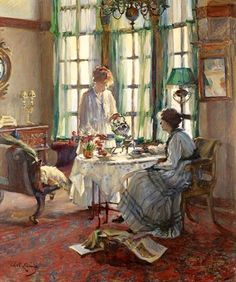A Helensburgh breakfast Annie Rose Laing (1869-1946)