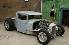 Hot Rod Trucks, Cool Trucks, Cool Cars, Pickup Trucks, Classic Trucks, Classic Cars, Hot Rod Pickup, Custom Trucks, Custom Cars