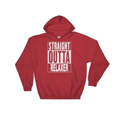 Straight Outta Relaxer Graphic Hoodie