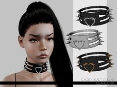 Caged Heart Collar Found in TSR Category 'Sims 3 Necklaces' Sims 4 Nails, Sims 4 Tattoos, Sims 4 Cc Packs, Sims 4 Game, Sims 1, Sims Community, Sims 4 Cc Finds, Sims Resource, Sims 4 Clothing