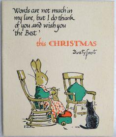 Holly Bush Series London Christmas Greeting Card
