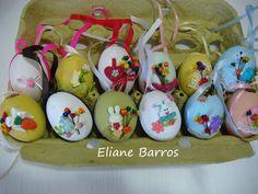casquinhas de ovos pintadas mais apliques