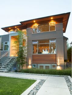 PRIVATE RESIDENCE, VANCOUVER, B.C. - ANKENMAN MARCHAND ARCHITECTS