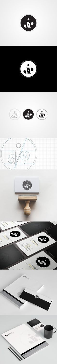 21 ideas for design logo inspiration personal branding initials Graphisches Design, Design Logo, Design Poster, Brand Identity Design, Graphic Design Typography, Brand Design, Corporate Design, Corporate Branding, Design Websites