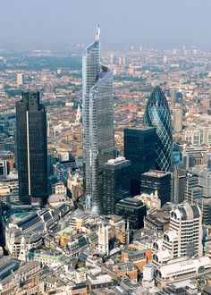 """Bishopsgate Tower - """"The Pinnacle""""   City of London   288m   63 fl   On Hold - SkyscraperCity"""