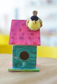 crafty birdhouse