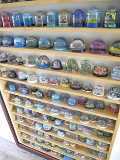 One day I will have a specific and permanent display area for all of my snowglobes too!