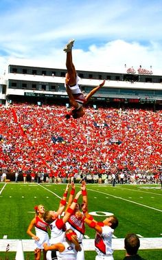 It's my dream to be a Georgia Cheerleader....What can I say? She sure was raised right;)