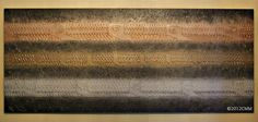 EAVES  Original Painted Textured Mixed Media by CMMorrisArtGallery, $499.00