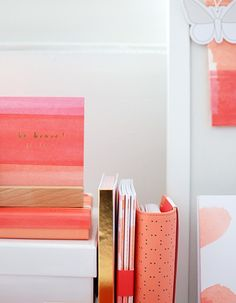 Kikki.K's newest collection as of September 2015 - Be Brave. I love this collection's colour scheme and watercolour effects