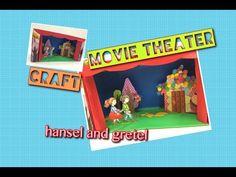 유아 초등 미술 수업 - craft - 이야기 무대 만들기 - hensel & gretel - 샴박쌤 - YouTube