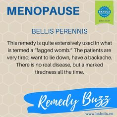 REMEDY BUZZ: Homeopathic remedy for Menopause. - I LOVE HOMEOPATHY - Google+