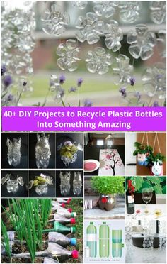 DIY Ideas and Projects to Recycle Plastic Bottles | www.FabArtDIY.com