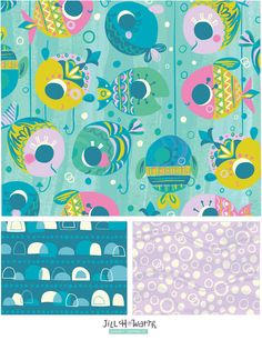 fishies / Jill Howarth Illustration