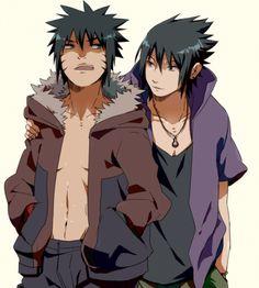 Naruto - Charasuke (Sasuke) Uchiha x Menma Uzumaki - CharaMen