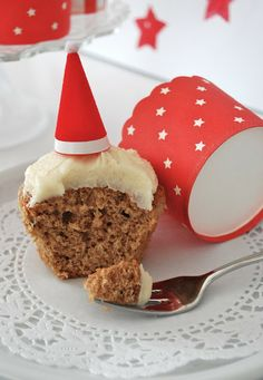 mamas kram: Lebkuchen Cupcakes