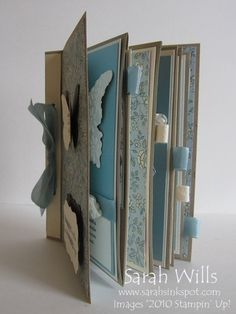 Envelope mini with full tutorial and printable instructions by SU demonstrator Sarah Wills