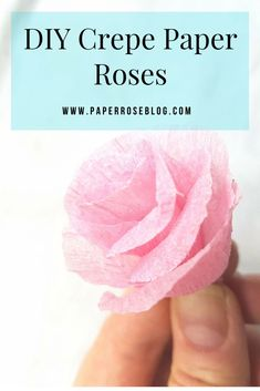Create Quick & Easy DIY Crepe Paper Roses with Dollar Store Streamers, pipe cleaners and string. Streamer Flowers, Crepe Paper Streamers, Crepe Paper Roses, Tissue Paper, How To Make Paper Flowers, Giant Paper Flowers, Diy Flowers, Tissue Flowers, Crochet Flowers