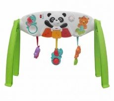 Gimnasio de actividades con panda Baby Gym, Baby Kids, Panda, Fisher Price, Little Girls, House, Gym, Toys, Activities