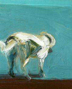 """Saatchi Online Artist Dan Adams; Painting, """"""""Dog"""""""" #art"""