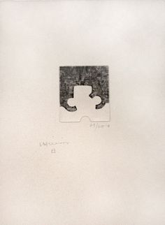 Eduardo Chillida grabado a la punta seca en venta
