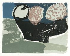 Fruit in a Black Bowl by Rosemary Vanns  Screenprint