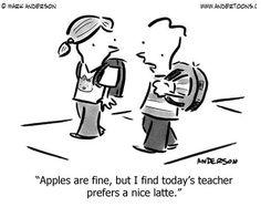 Apple vs. Latte