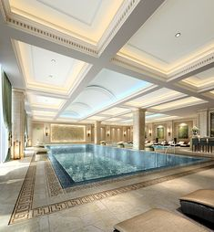 luxury interior pool