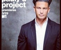 The first poster for The Pauly D Project premiering in March on MTV