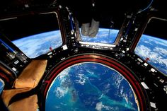 The Bahamas as seen from the ISS cupola