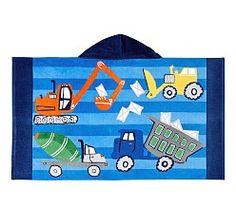 Kids Beach Towels, Hooded Towels & Beach Tunics | Pottery Barn Kids