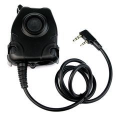 כבל ptt עבור kenwood k plug עבור z טקטי עמיד למים אוזניות הפחתת רעש j6346a