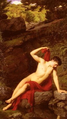 Narcissus - Adolf Joseph Grass  1867