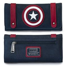 Captain America Trifold Wallet