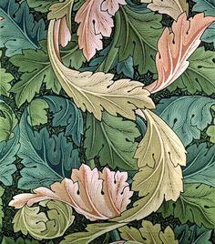 William Morris - 'Acanthus' wallpaper design, 1875
