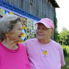 Nina Maxine Groves (L) and Donna Sue Groves (R) in 2009. One of my favorite pictures I took of the two of them while DSG was battling breast cancer - it's full of love, love, love.