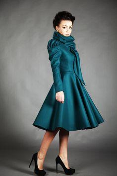 Laura Galic - amazing designer from Romania. http://www.etsy.com/listing/88406290/beatrice-jacket-autumn-lining-or-winter