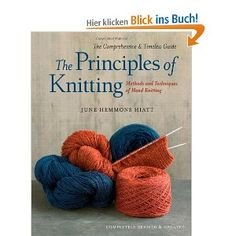 I'm gonna buy me a copy of this book! Whatever you wanna know about knitting, you'll find it here...
