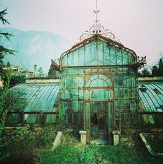 Enchanted greenhouse #inspiration -I would really like one in the back yard!!! I may even live there all year!