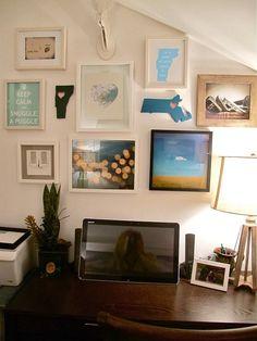 #DIY Photo Frame Gallery wall
