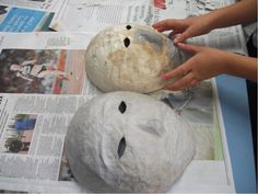 How To Make A Paper Mache Mask- Great Family Craft Project - Bond With Karla