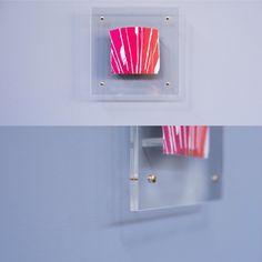 Plexiglass frame.  #plexiglass #cornici #frames #colors
